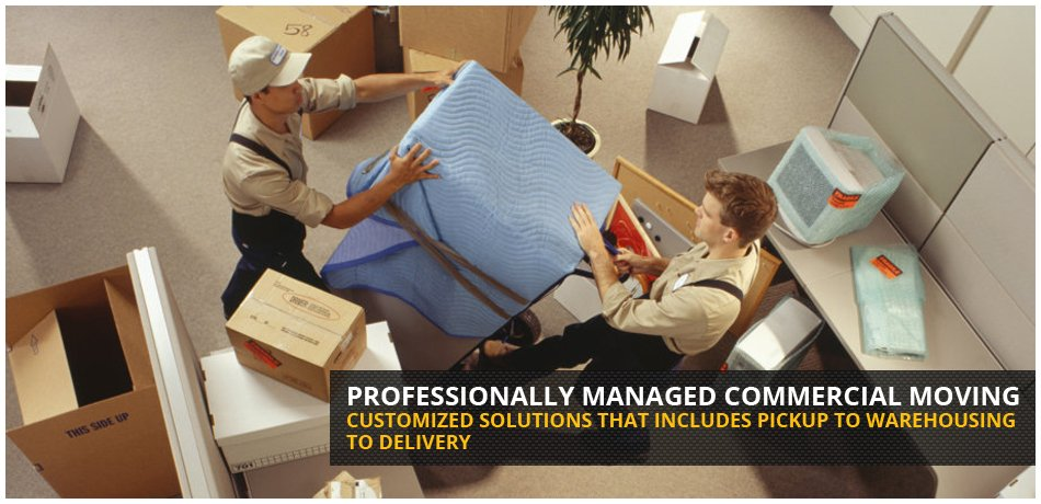 Professionally managed Winnipeg commercial moving