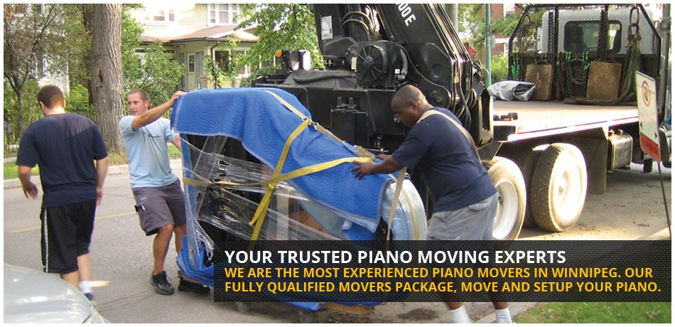 Your trusted Winnipeg Piano Moving Experts. We are the most experienced piano movers in Winnipeg. Our fully qualified movers package, move and setup your piano.